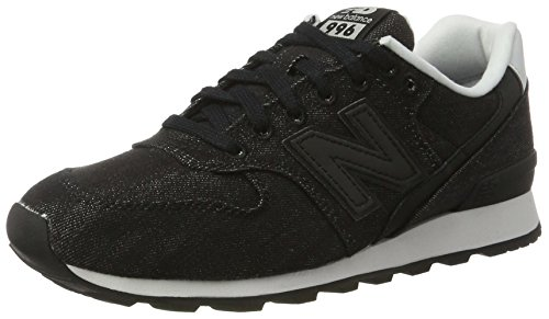 New Balance Wr996, Sneaker Donna Nero (Black)