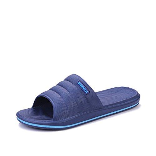 Men's Comfortable Lightweight Indoor Slippers blue