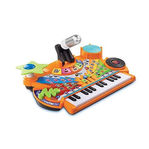 HXGL-Tastatur Kinderspielzeug Tastatur Musik Jungen Und Mädchen Puzzle 3 Jahre Alt Kinder Geschenke Für Kinder Multifunktions-Musik-Tabelle (Farbe : B)