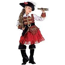 Luxuspiratin Seeräuberin Kinderpiratenkostüm Piratin
