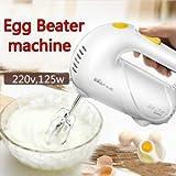 SLB Works Brand New 5 Speed Electric Hand Mixer Egg Beater Cake Baking Whisk Blender Kitchen 220v
