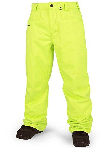 Volcom Herren Snowboardhose Carbon Pants Tennis Ball, XL - Volcom Stone Rings