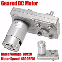 DC12V 4500RPM Metal Gear Motor Square Electric Drive Motor