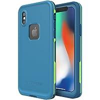 Lifeproof Fre Coque Étanche et Antichoc Pour iPhone X bleu