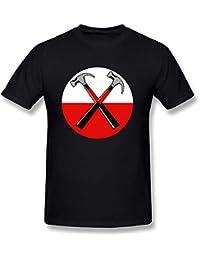 Pink Floyd de los hombres camiseta de algodón
