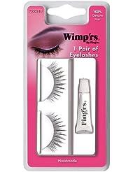 Fing'rs - 70003 - Maquillage des Yeux - 1 Paire de Faux Cils Noirs en Cheveux Véritables - Ultra Fins