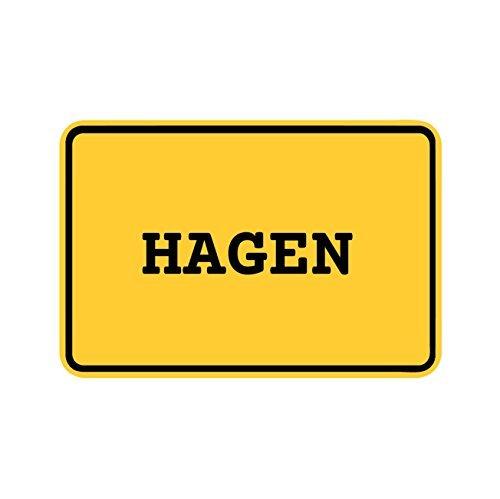 Preisvergleich Produktbild JOllify Aufkleber - HAGEN – Farbe: Design: Ortsschild