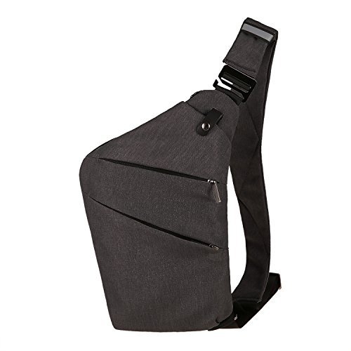 Minilism Leichte Sling Schulter Rucksäcke Chest Pack Umhängetasche Dreieck Rucksack zum Wandern Radfahren Reisen oder Multipurpose Tagepacks (1 Sling-rucksack)