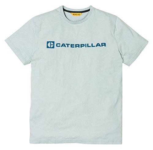 Block Shirt Silver UK EU T Caterpillar Lifestyle CAT Oxw5qp7SO