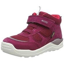ECCO Girls' Urban Mini Hi-Top Trainers, Pink (Red Plum 1293), 5 UK