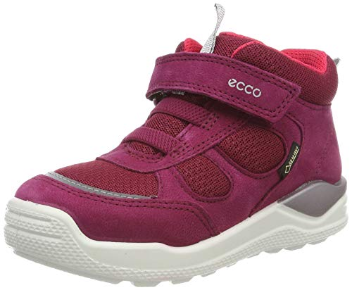 ECCO Girls' Urban Mini Hi-Top Trainers, Pink (Red Plum 1293), 10 UK