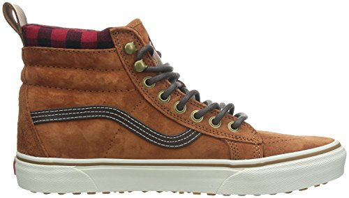 Vans Sk8-hi, Basses Mixte Adulte Marron (Glazed Ginger)