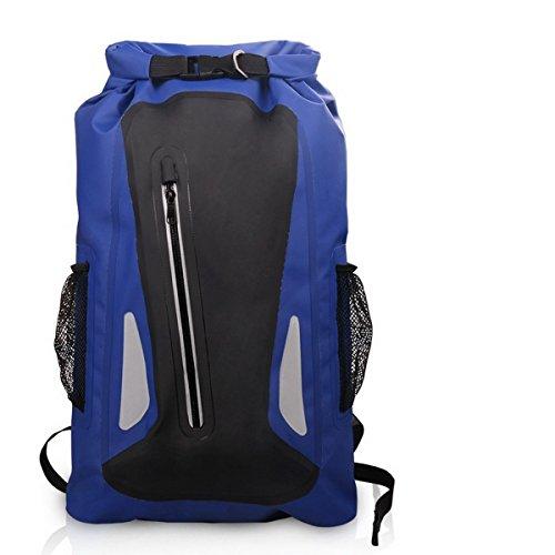 Imagen de acmebon  estanca unisex ligera impermeable bolsa de viaje de aventuras para actividades al aire libre como escalada,kayak,canotaje,piragüismo,pesca,rafting,baño azul oscuro 604