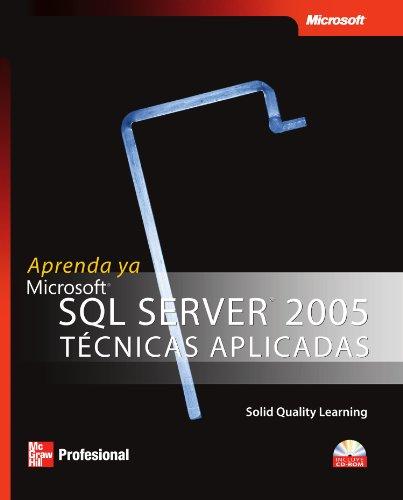 Aprenda ya SQL server 2005 tecnicas aplicadas
