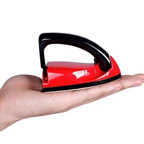 Plancha Mini plancha de vapor handliche plancha de viaje calentamiento rápido Vapor Cabello Cepillo de vapor con 40ml Depósito de agua para hogar Viaje Vacaciones y Travel