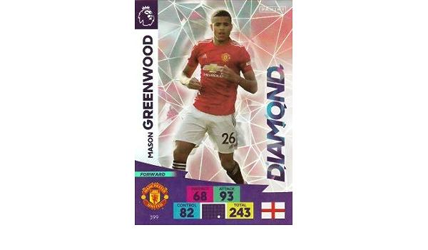 Panini Adrenalyn 2020//21 Premier League Mason Greenwood Diamond card
