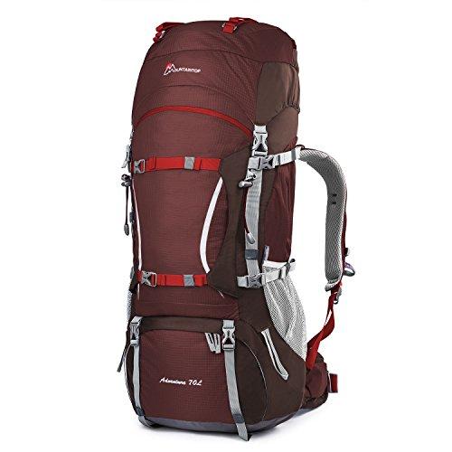 Mountaintop 70L + 10L Sac à dos de randonnée/sac au...