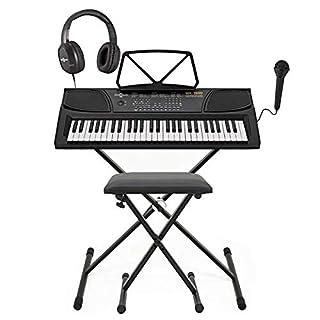 MK-1000 Tragbares Keyboard mit 54 Tasten von Gear4music – Komplettpaket