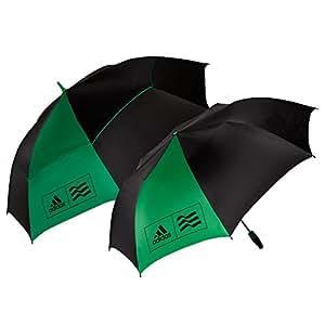 Adidas parapluie de golf, Lot de 2–Vert