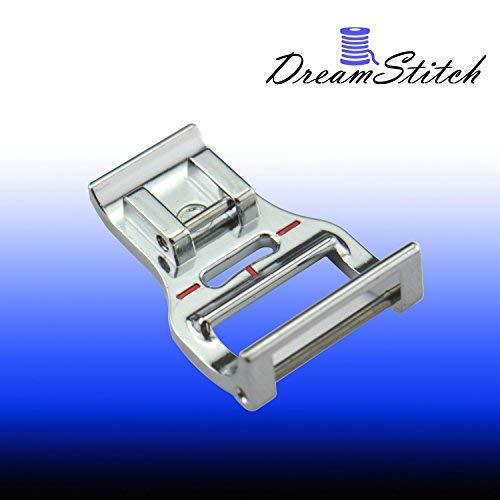 DreamStitch 7328 - Pie de 7 mm con cremallera para máquina de coser regular de Brother, Singer, Babylock, Bernette, Elna