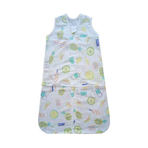 Couverture de couchage pour bébé pour nouveau-né et bébé, sac de couchage Swaddlers de 4 à 10 mois avec ailes ajustables, sac de couchage respirant 100% coton pour filles et garçons, quatre saisons