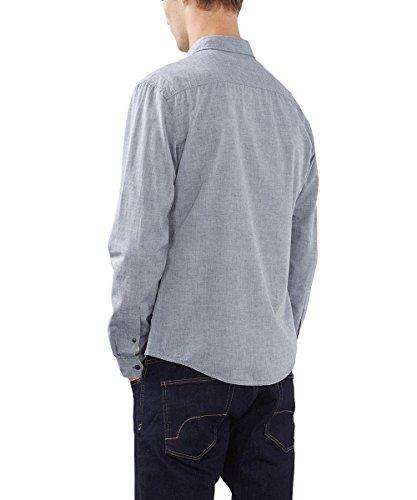 edc by Esprit 096cc2f004, Chemise Casual Homme Bleu (Navy 400)