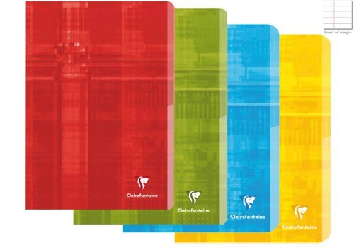 clairefontaine-classic-staple-bound-notebook-ruled-with-margin-6-1-2-in-x-8-1-4-in-48-sheets-colors-