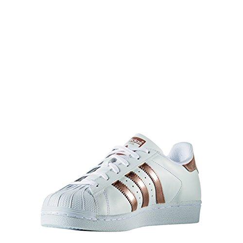 Adidas Superstar Damen Sneaker Weiß - 2
