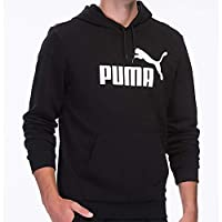 Puma Erkek Sweatshirt'ler ESS Hoody TR Big Logo Puma Black