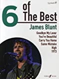 JAMES BLUNT - 6 of the best Songbook piano/vocal/guitar mit Bleistift -- Die 6 beliebtesten Hits des Sängers u. a. mit YOU'RE BEAUTIFUL und 1973 arrangiert für Klavier, Gesang und Gitarre (Noten/Sheet music)
