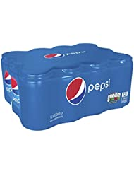 Pepsi Cans, 330 ml (Pack of 12)