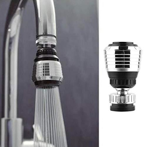 Überlauf-filter (Xixini 3pcs Nützlicher Wasserhahn-Sprudler, der Wasser-Überlauf 360 ° Wasser-Auslauf-Filter spart Küche/Badezimmer)