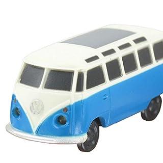 Volkswagen VW Camper Van 19622LED Light Key Ring in Blue