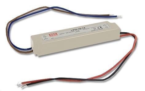 MeanWell LPH-18-24 - Fuente de alimentación conmutada para ledes (18 W, 24 V, 0,75 A)