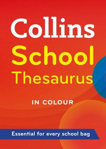 Collins School Thesaurus Colour Layout par Collins Dictionaries