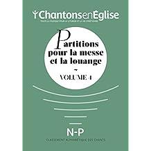Partitions pour la Messe et la Louange Vol. 4