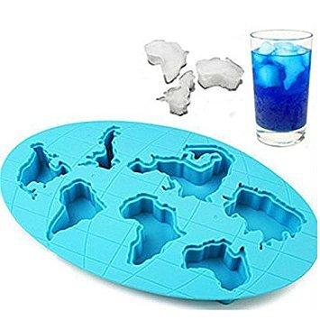 Kontinente Form Silikon Form Kuchen Werkzeuge Cookie Cutter Ice Formen Kuchenform Bakeware Tools Ice Cutters
