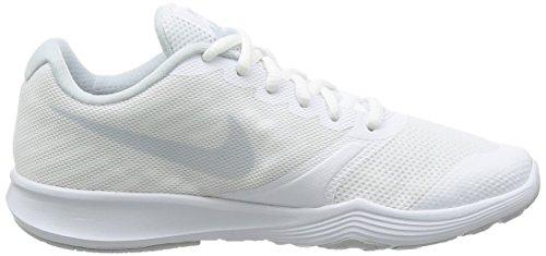 Nike Damen City Trainer Laufschuhe Elfenbein (White/pure Platinum)