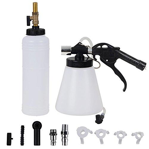 LanLan Outils de réparation de Voiture de kit de Remplacement d'huile de Frein de Frein d'outil de Purge de Frein de Voiture