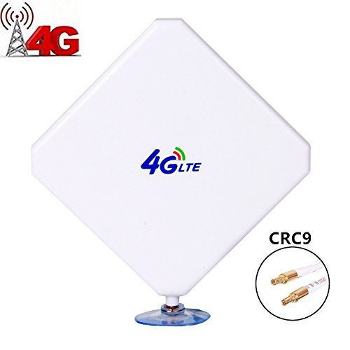CRC9 Connector 4G LTE Antenne 35dBi Outdoor Signal Booster Amplifier