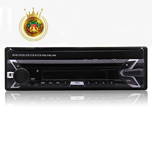EINCAR Audio Kapazitive Multiple Touch Screen Abnehmbare Frontplatte - In-Dash, Einzel Din, Bluetooth, DVD/CD / MP3 / USB/SD/AM/FM-Empfänger, 7