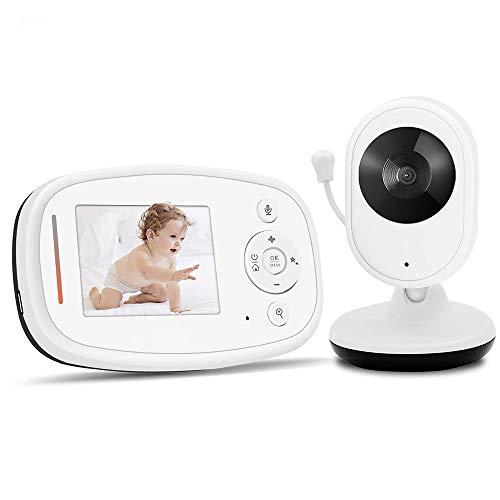 REIZTYO Monitor Vídeo Baby Inalámbrico Digital Cámara