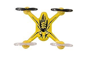 Jamara X-Hornet Remote Controlled Quadcopter - Juguetes de Control Remoto (Polímero de Litio, 300 mAh, 185 mm, 35 mm, 44 g)