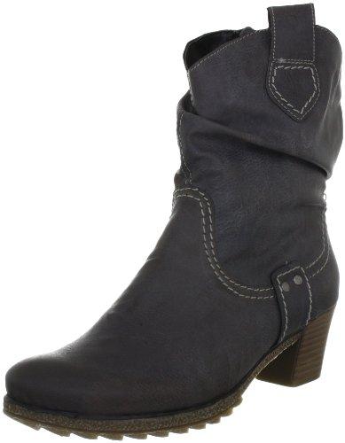Rieker Y8184-45 Damen Fashion Halbstiefel & Stiefeletten Grau (basalt 45)