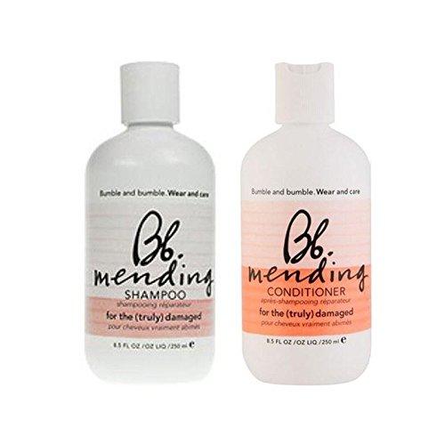 Bb Porter Et De Soins Réparant Le Shampooing Et Le Revitalisant Duo- (Pack de 6)