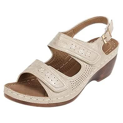 Catwalk Women's Double Strap Sandals