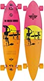 Dusters Longboard Endless Summer 42 Yellow/Orange/Pink