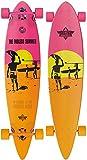 Dusters Longboard Endless Summer 42Yellow/Orange/Pink