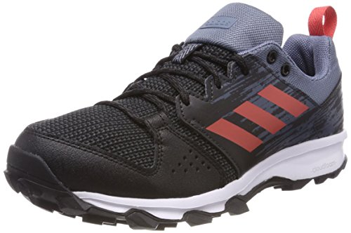 adidas Damen Galaxy Trail Laufschuhe, Schwarz (Core Black/Trace Scarlet S18/Carbon S18), 40 EU (Hat Adidas Athletic)