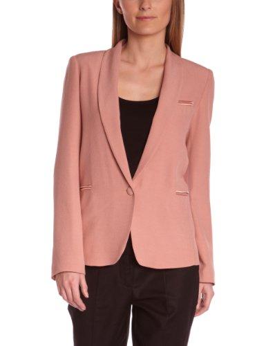 Axara Damen Blazer Blouson Pink - Rose (Vieux Rose)